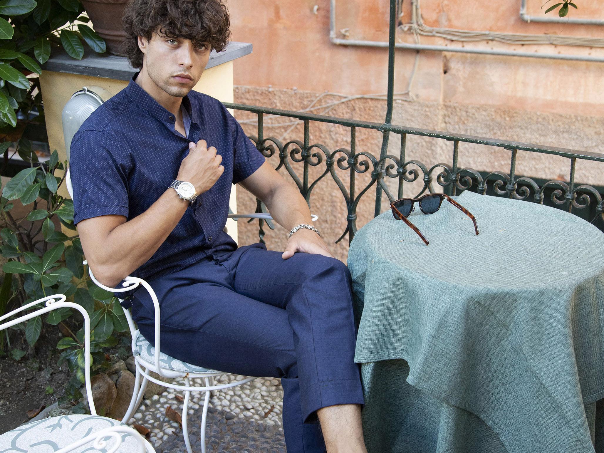 pantaloni su misura di sartoria milano