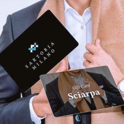 Gift Card - Sciarpa con iniziali